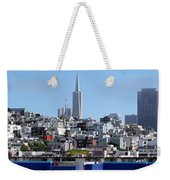 San Francisco Panorama Weekender Tote Bag