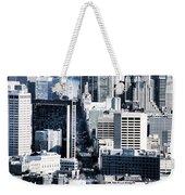 San Francisco Skyline-grunge Weekender Tote Bag
