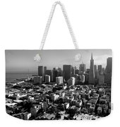 San Francisco Weekender Tote Bag by Valeria Donaldson