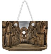 San Galgano  - A Ruin Of An Old Monastery With No Roof Weekender Tote Bag