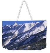 San Juan Mountains Covered In Snow Weekender Tote Bag