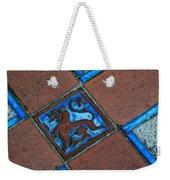 San Simeon Patio Tile Weekender Tote Bag