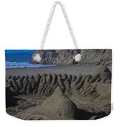 Sand Dolphin Weekender Tote Bag