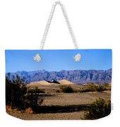 Sand Dunes In Death Valley Weekender Tote Bag