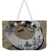 Sand On A Half Shell Weekender Tote Bag
