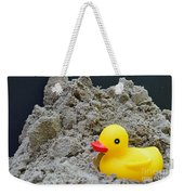 Sand Pile And Ducky Weekender Tote Bag