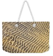 Sand Ripples In Shallow Water Weekender Tote Bag