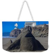 Sand Shark At Cliff House Weekender Tote Bag
