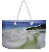Sandbars Create An Interesting Pattern Weekender Tote Bag