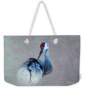 Sandhill Crane 2 Weekender Tote Bag