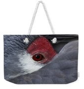 Sandhill Crane At Rest Weekender Tote Bag