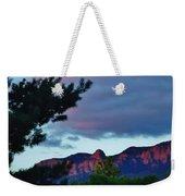 Sandia Mountains At Sunset Weekender Tote Bag