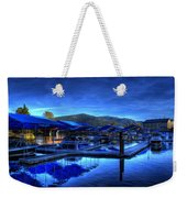 Sandpoint Marina And Power House 3 Weekender Tote Bag