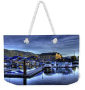 Sandpoint Marina And Power House Weekender Tote Bag