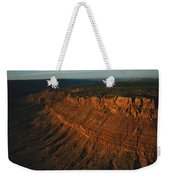 Sandstone-capped Escarpment Weekender Tote Bag