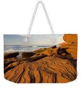 Sandstone Cliffs, Cavendish, Prince Weekender Tote Bag