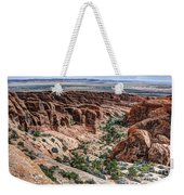 Sandstone Fins Of Arches National Park Weekender Tote Bag