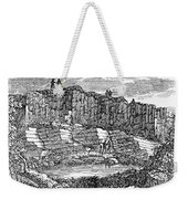 Sandstone Quarry, 1840 Weekender Tote Bag
