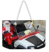 Santa Calling You Weekender Tote Bag
