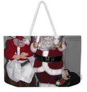 Santa Couple Weekender Tote Bag