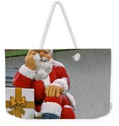 Santa Is Waiting For You Weekender Tote Bag