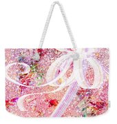 Santa's Window Weekender Tote Bag