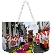 Santo Cristo Dos Milagres Weekender Tote Bag