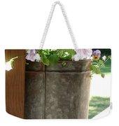 Sap Bucket Planter Weekender Tote Bag