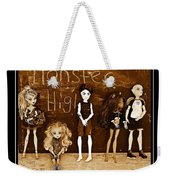 Sarah's Monster High Collection Sepia Weekender Tote Bag