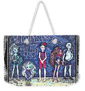 Sarah's Monster High Collection Sketch Weekender Tote Bag