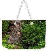 Sasquatch Rubbing Tree Weekender Tote Bag