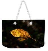 Sassafras Leaf Glowing Weekender Tote Bag