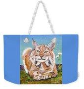 Sassy Lynx Weekender Tote Bag