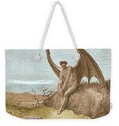 Satan Finding Serpent, By Dore Weekender Tote Bag