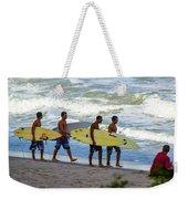 Satelite Beach Weekender Tote Bag