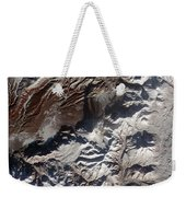 Satellite Image Of Russias Kizimen Weekender Tote Bag