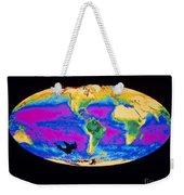 Satellite Image Of The Earths Biosphere Weekender Tote Bag