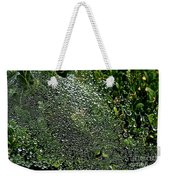 Saturated Spider Web Weekender Tote Bag
