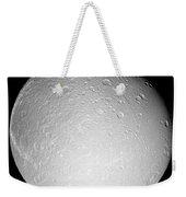 Saturns Moon Dione Weekender Tote Bag