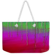 Sausalito Bay California In Color Weekender Tote Bag