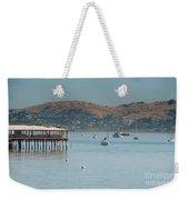 Sausalito Harbour Weekender Tote Bag