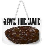 Save The Date Weekender Tote Bag