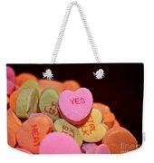 Say Yes Weekender Tote Bag