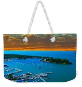 S.bass Is. Lake Erie Weekender Tote Bag