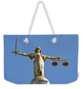 Scales Of Justice Weekender Tote Bag