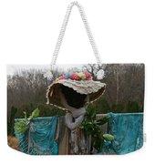 Scarecrow Garden Art Weekender Tote Bag