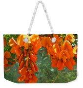 Scarlet Wisteria Tree - Sesbania Punicea Weekender Tote Bag