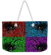 Scary Spider Serigraph Weekender Tote Bag by Al Powell Photography USA