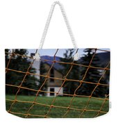 Scene Through A Volley Ball Court 2 Weekender Tote Bag