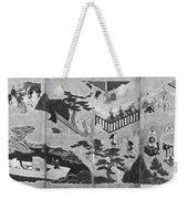 Scenes From The Tale Of Genji Weekender Tote Bag